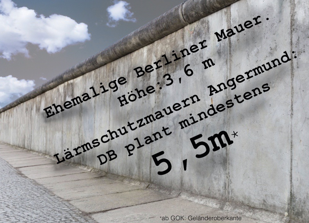 Die geplante Lärmschutzmauer in Angermund: Ein städtebauliches Desaster.