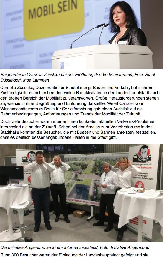 Duesseldorf-Landeshauptstadt-Verkehrsforum-Angermund-Bahnlaerm-Einhausung-RRX-Infrstrtruktur-Forderungskatalog