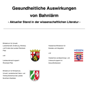 Bahnlärm-Gesundheit-Angermund-RRX-NRW-Hessen-Schienenlärm