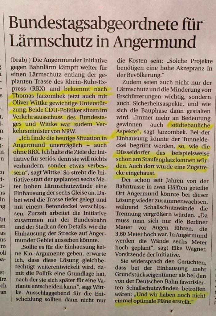 jarzombek-witke-laermschutz-bundestag-bundestagabgeordnete-laermschutz-angermund-rrx-staedtabau-initiative-abwaegung-planfeststellungsverfahren