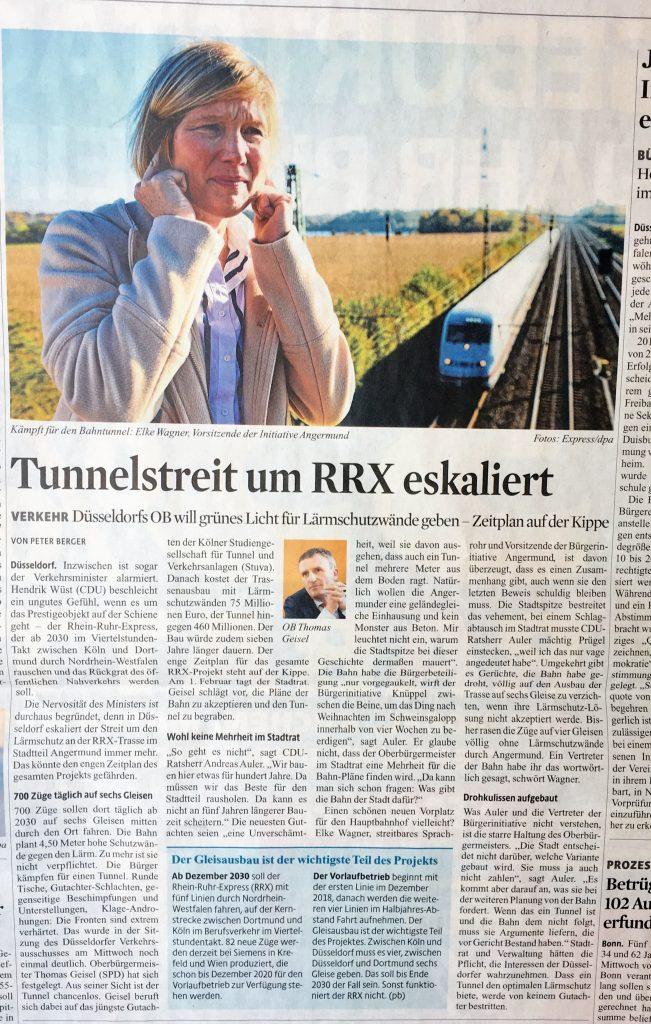 foto-frau auf bruecke-ueberanger-angermund-ic-zug-krach-elke wagner-laerm-gleise-rrx-duesseldorf
